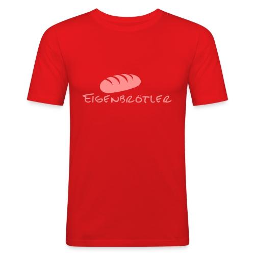"""T-Shirt """"Eigenbrötler"""" - Männer Slim Fit T-Shirt"""