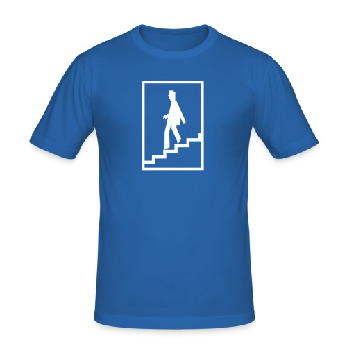zur U-Bahn - Männer Slim Fit T-Shirt