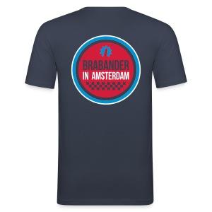 Cool Brabander in Amsterdam shirt! Heren - slim fit T-shirt