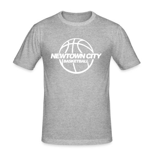 NTC BB Slim-Fit T-Shirt grey/white MEN - Männer Slim Fit T-Shirt