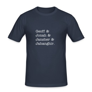 Jansher & Jahangir - Men's Slim Fit T-Shirt