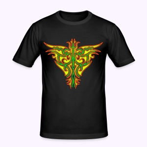 Maori Firebird Men's Slim Fit Shirt - slim fit T-shirt