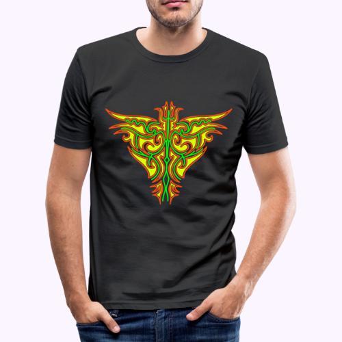 Maori Firebird Men's Slim Fit Shirt - T-shirt près du corps Homme
