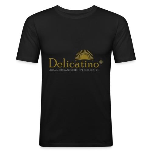 "Shirt ""Delicatino"" gold - Männer Slim Fit T-Shirt"