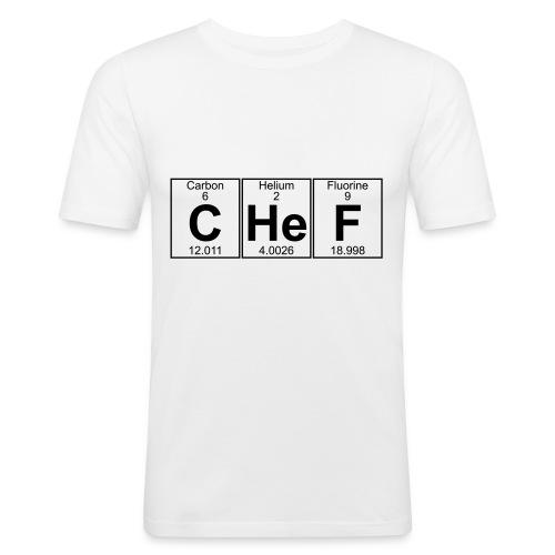 C-He-F (chef) - Men's Slim Fit T-Shirt