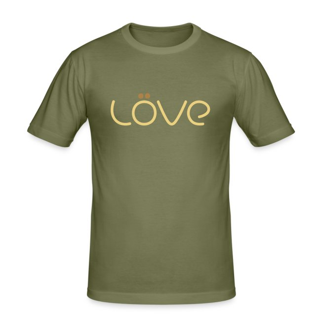 LÖVE T-Shirt Brown
