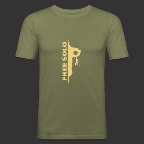 Free Solo - Männer Slim Fit T-Shirt