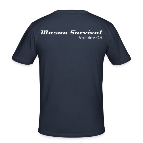 Mason Survival Verbier TSHIRT - Men's Slim Fit T-Shirt