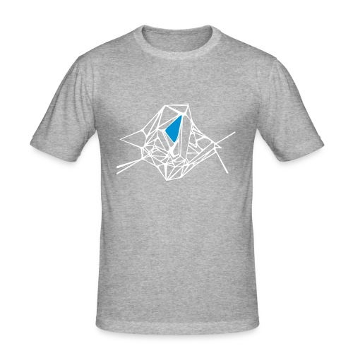 Geometrical Head. - T-shirt près du corps Homme