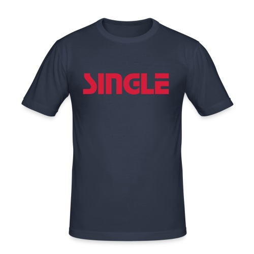 SINGLE - T-Shirt - Men's Slim Fit T-Shirt