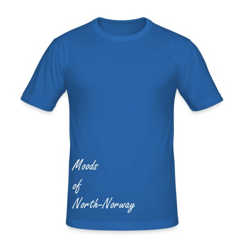 Moods of north norway - slim fit tee - Slim Fit T-skjorte for menn