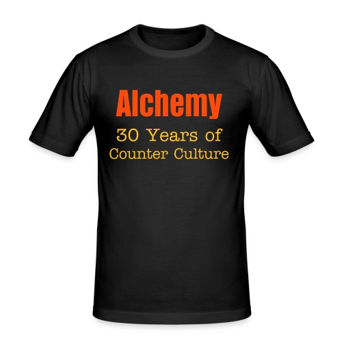 Alchemy: 30 Years of Counter Culture - Men's Slim Fit T-Shirt