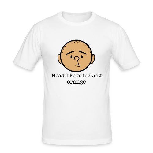 Pilkington with text - Slim Fit T-shirt herr