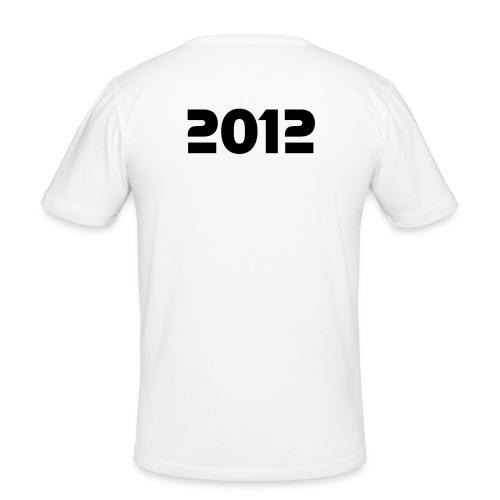 The End (White) - Herre Slim Fit T-Shirt