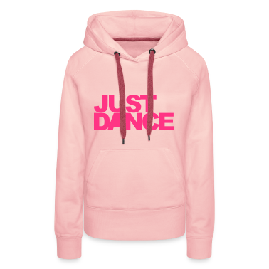 Light pink Just Dance Hoodies & Sweatshirts