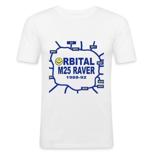 Oribital M25 Acid House Raver T-shirt - Men's Slim Fit T-Shirt