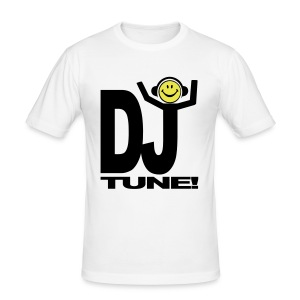 Smiley Party DJ shouting Tune! T-shirt - Men's Slim Fit T-Shirt