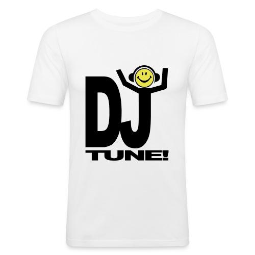 Smiley Party DJ shouting Tune! T-shirt - Men's Slim Fit T-Shirt