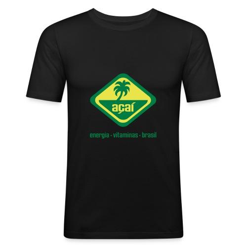 Açaí Slim Fit - Männer Slim Fit T-Shirt