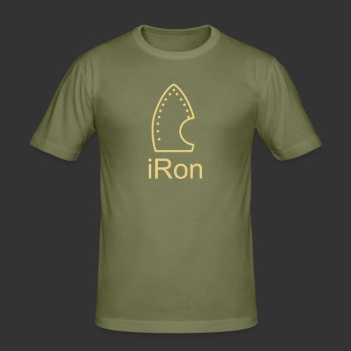 iRon - Männer Slim Fit T-Shirt