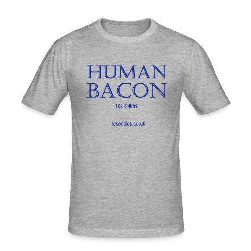 Human Bacon - Men's Slim Fit T-Shirt