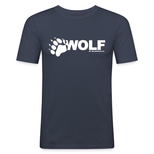 Wolf - Men's Slim Fit T-Shirt