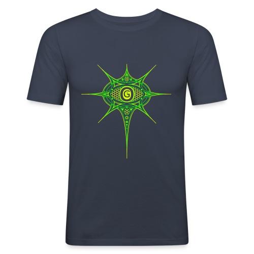 Ogu Shirt Green - Männer Slim Fit T-Shirt