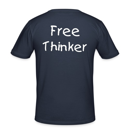 Free Thinker. - Slim Fit T-shirt herr