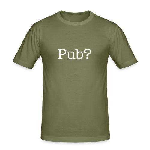 Pub? - Men's Slim Fit T-Shirt