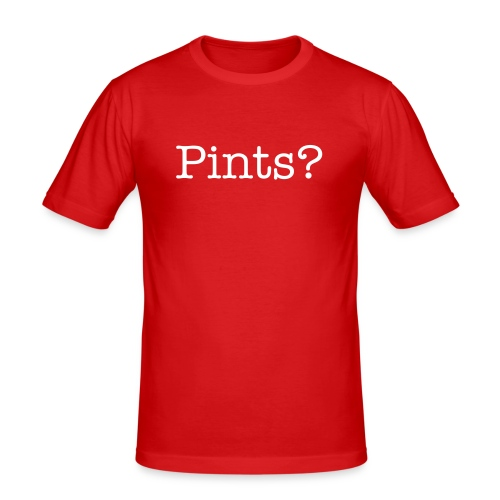 Pints? - Men's Slim Fit T-Shirt