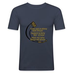ASNC Wisdom Men's Shirt - Men's Slim Fit T-Shirt
