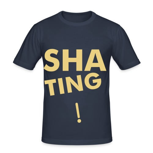 SHATING! - Men's Slim Fit T-Shirt
