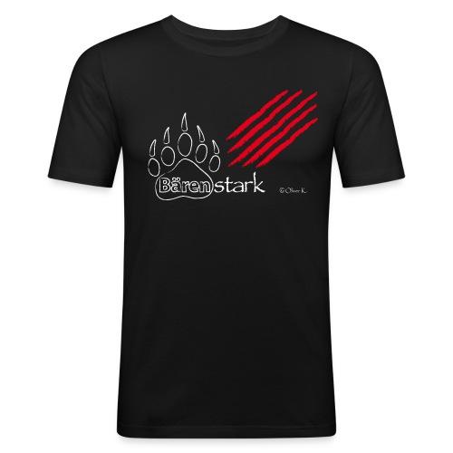 Bärenstark + Kratzspuren|SG Grafschaft - Männer Slim Fit T-Shirt