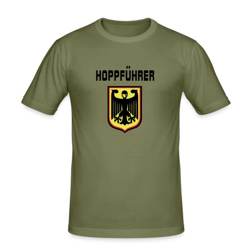 Hoppfuhrer tee - Men's Slim Fit T-Shirt