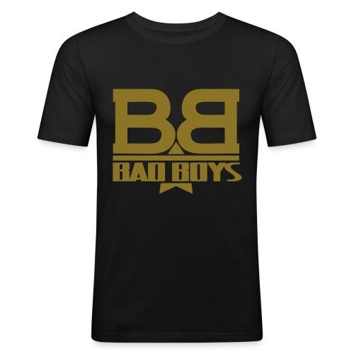 Bad Boys Logo - Maglietta aderente da uomo