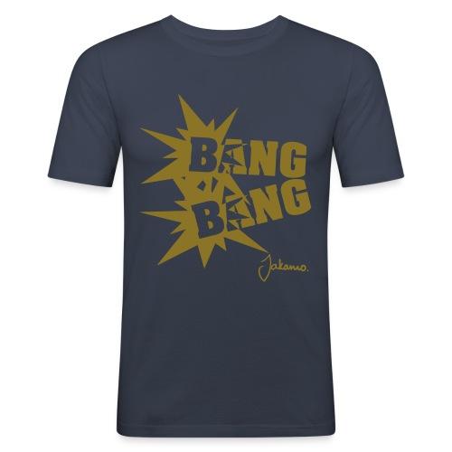 Bang Bang - Men's Slim Fit T-Shirt