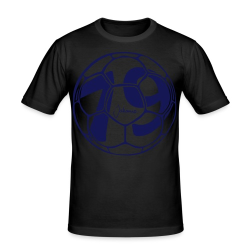 Football Born in 79 - Men's Slim Fit T-Shirt