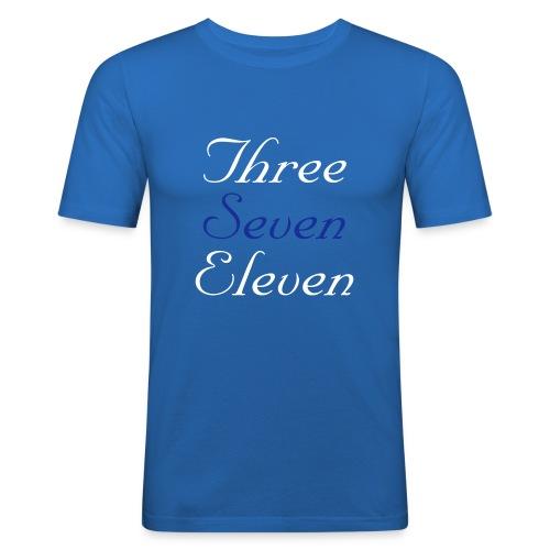 3-7-11 - Men's Slim Fit T-Shirt