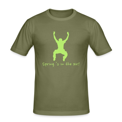 T-shirt Spring 's in the air! - slim fit T-shirt