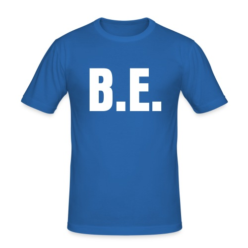 B.E. classic tee - Men's Slim Fit T-Shirt