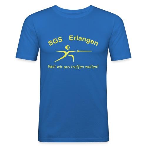 SGS Männer Slimfit - Männer Slim Fit T-Shirt