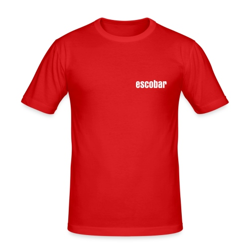 escobar 100%colombian t-shirt - Men's Slim Fit T-Shirt