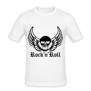 T shirt homme rock'n'roll - Tee shirt près du corps Homme