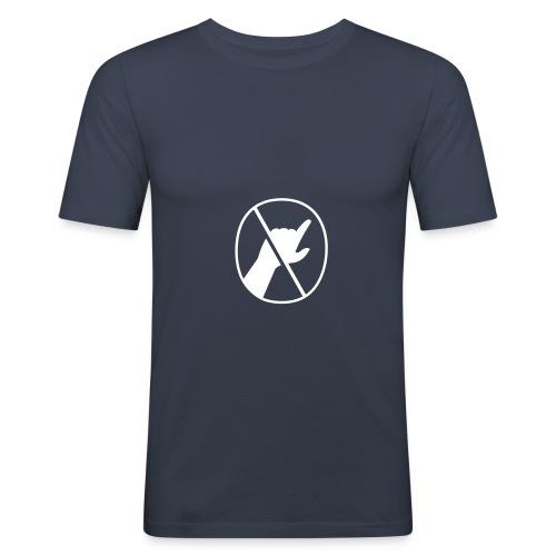 Bitte nicht berühren - Männer Slim Fit T-Shirt