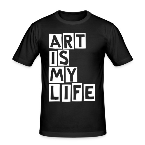 Art is my Life - Men's Slim Fit T-Shirt