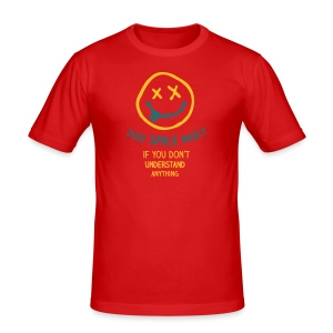 Smile Nicely - Slim Fit - Männer Slim Fit T-Shirt