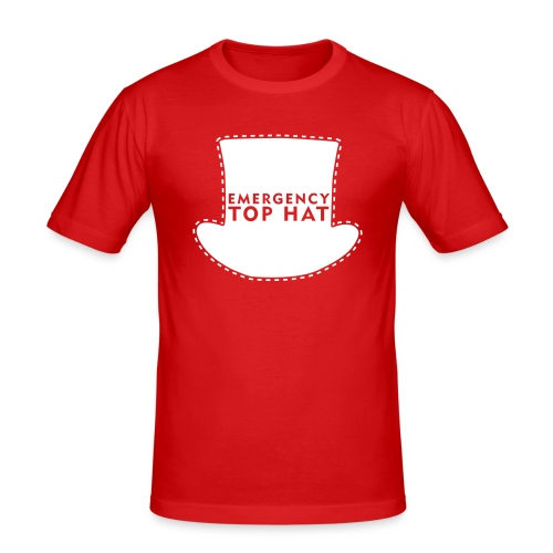EMERGENCY TOP HAT - Men's Slim Fit T-Shirt