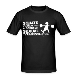Sexual Tyrannosaurus - Men's Slim Fit T-Shirt