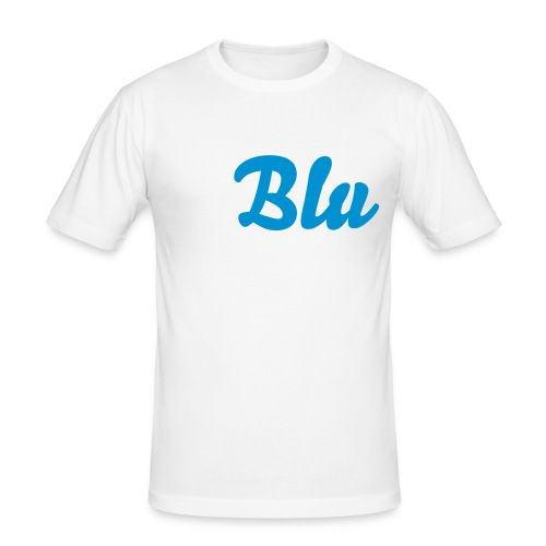 """Blu"" - Men's Slim Fit T-Shirt"
