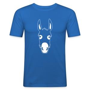 esel t-shirt donkey maultier muli jackass mule - Männer Slim Fit T-Shirt